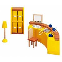 Goki Набор для кукол Мебель для офиса ресепшина 51696G