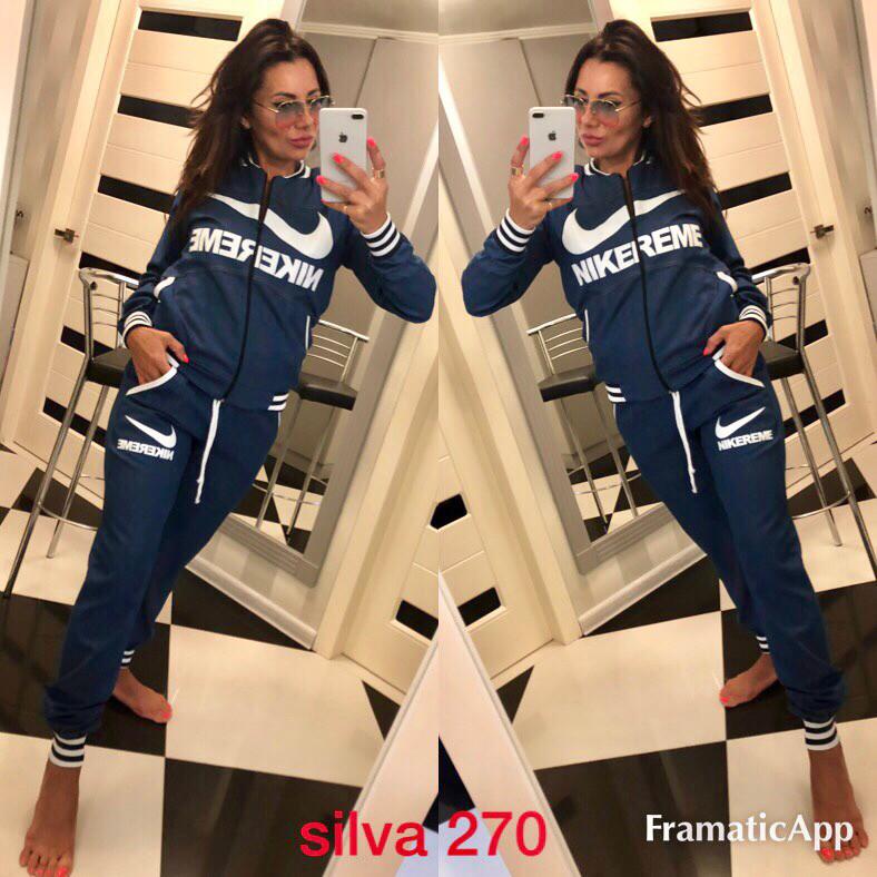 Женский джинсовый спортивный костюм  021e6804ddc05