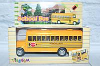 Машина металл KINSMART школьный автобус, 14*5*11,5 см.