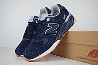 Мужские кроссовки Nеw Balance 999 синие на синей Реплика ТОП качества, фото 1