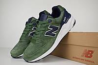 Мужские кроссовки Nеw Balance 999 зеленые Реплика ТОП качества, фото 1