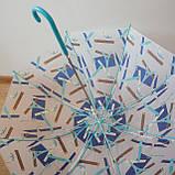 Жіночий парасольку тростину (синій Париж), фото 4