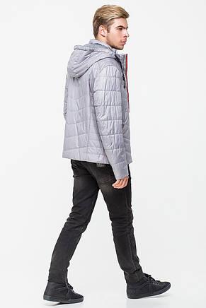 Мужская ветровка (демисезонная куртка) CW13MC139M серая, фото 2