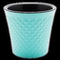 Вазон Гиацинт 3,5 л бирюзовый, фото 1