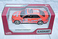 Машина металл KINSMART STREET FIGHTER, 16*8,5*7,5 см.