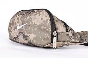Поясная сумка Бананка Nike, Камуфляж, Непромокаемый полиэстер