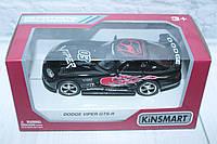 Машина металл KINSMART DODGE VIPER GTSR, 16*8,5*7,5 см., фото 1