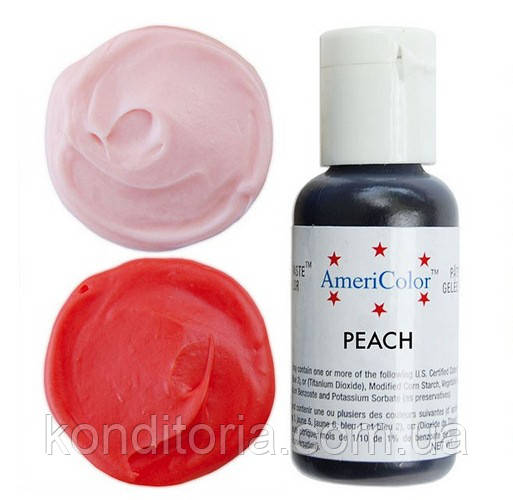 Краситель гелевый Америколор (Americolor) Персиковый (Peach) № 117