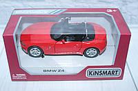 Машина металл KINSMART BMW Z4, 16*8*7,5 см.