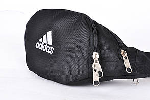 Поясная сумка Бананка Adidas, Черная, Непромокаемый полиэстер