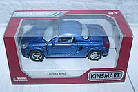 Машина металл KINSMART TOYOTA MR2, 16*8*7 см.