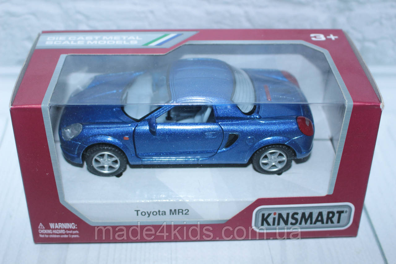 Машина металл KINSMART TOYOTA MR2, 16*8*7 см., фото 1