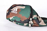 Поясная сумка Бананка Adidas, Камуфляж, Непромокаемый полиэстер, фото 1