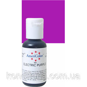 Краситель гелевый Америколор (Americolor) Электрик -пурпурный (Electric Purple) № 165