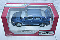 Машина металл KINSMART MITSUBISHI LANCER EVOLUTION VII, 16*8*7 см., фото 1