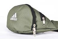 Поясная сумка Бананка Adidas, Хаки, Непромокаемый полиэстер, фото 1
