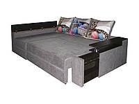 Угловой диван-еврокнижка на пружинном блоке Арго, фото 1