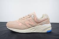 Женские кроссовки в стиле New Balance 999, пудра