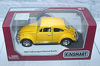Машина метал KINSMART VOLKSWAGEN CLASSICAL BEETLE 1967, 16*8*7 див., фото 1