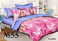 Детское постельное белье бязь Барби ранфорс