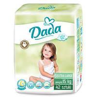Подгузники DADA 6 extra soft (15+кг) 42шт