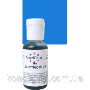 Краситель гелевый Америколор (Americolor) Электрик голубой ( Electric Blue) № 160