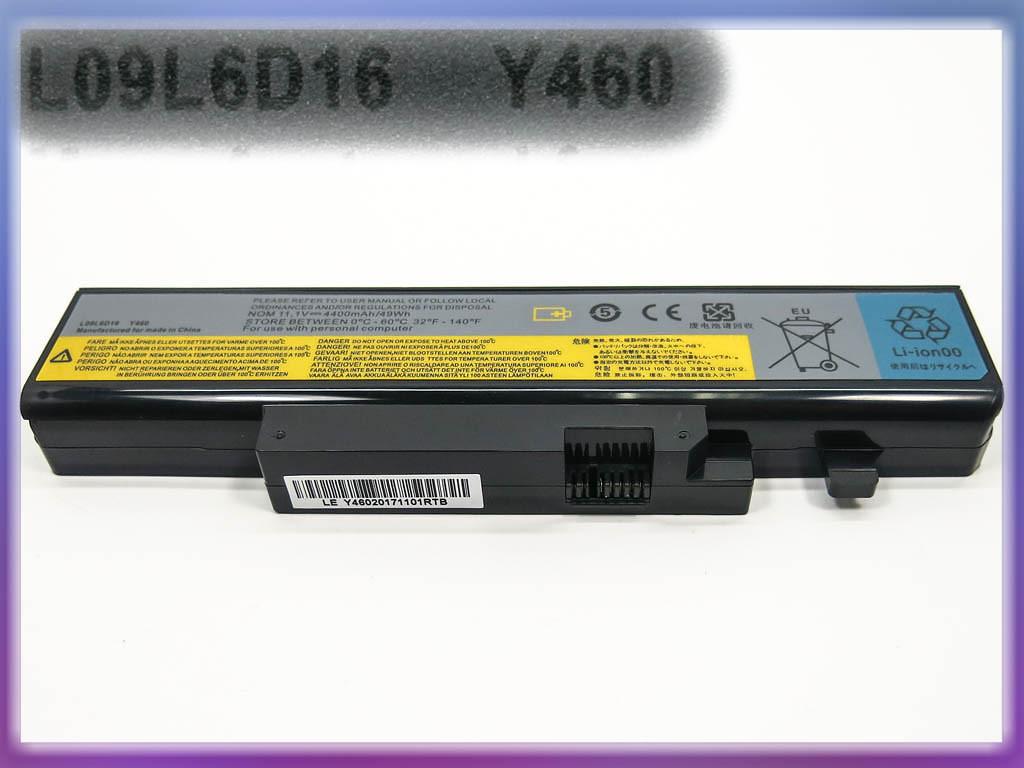 Батарея ( L10L6Y01) IdeaPad Y560 (10.8V 4400mAh). Black 2