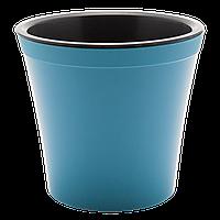 Вазон Орхідея 0,6 л синій