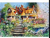 "Набор для творчества diamond mosaic алмазная живопись ""Дом сказок"""