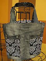 Джинсовая сумка Ева , фото 1