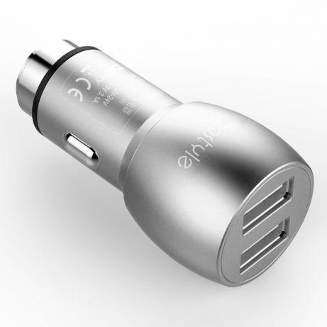 Зарядное устройство прикуриватель Dostyle DC101/ Металл2 USB/3.1A