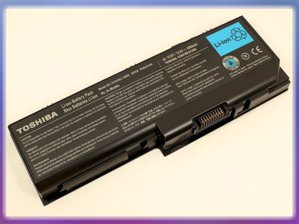 Батарея Toshiba Satellite L350, L355, P200, P205, P300, X200, X205 (PA