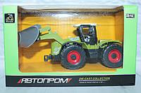 Трактор металл АВТОПРОМ, в коробке 15,5*9,5*7,5 см.