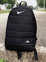 Черный спортивный, городской рюкзак Nike, есть опт, фото 1