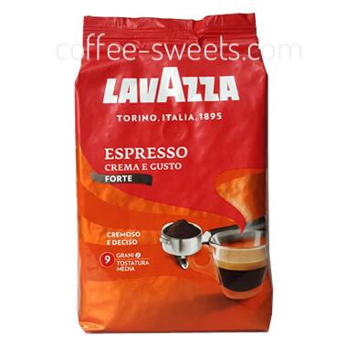 Кофе зерновой Lavazza Espresso Crema Gusto Forte, 1 кг