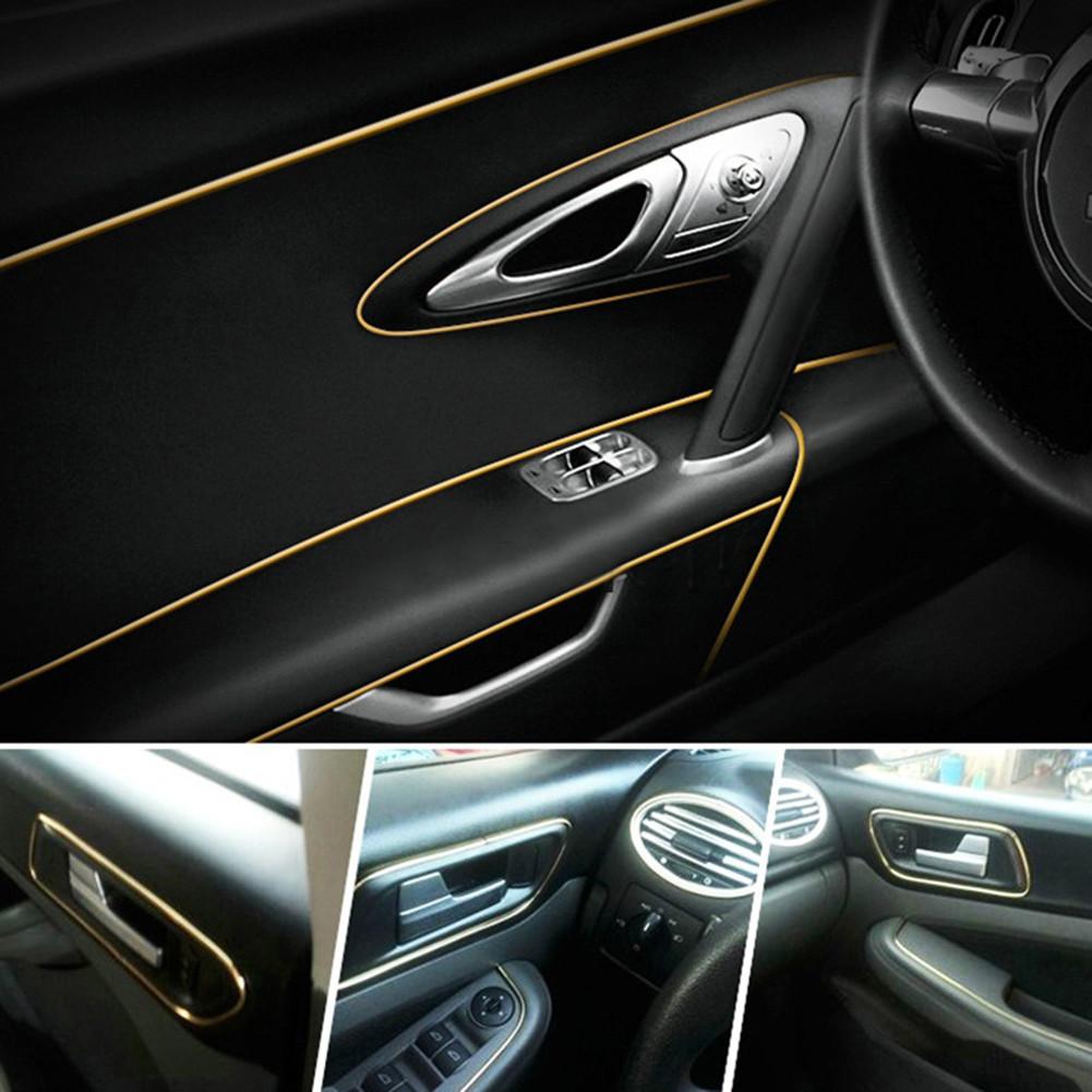 Декоративный кант для интерьера автомобиля - золото, фото 1