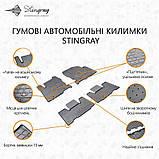 Коврики автомобильные Acura MDX II 2006-2014 Комплект из 4-х ковриков. Stingray, фото 3