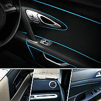 Декоративный кант для интерьера автомобиля - синий, фото 1