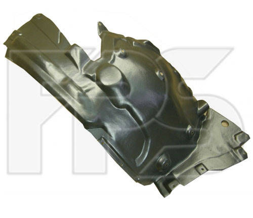 Подкрылок передний правый BMW 5 F10 (10-16) задняя часть (FPS) 51717186724, фото 2