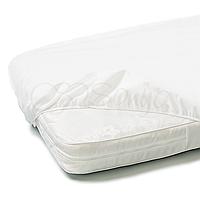 Наматрасник непромокаемый натяжной в кроватку 60х120.
