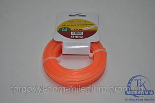 Forte леска для триммера 2.4мм 15м. DS24-15-03