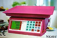 Электровесы со счетчиком цены Nokasonic NK 4017 mini 50kg (5 gm), весы торговые, весы напольные, веса, ваги