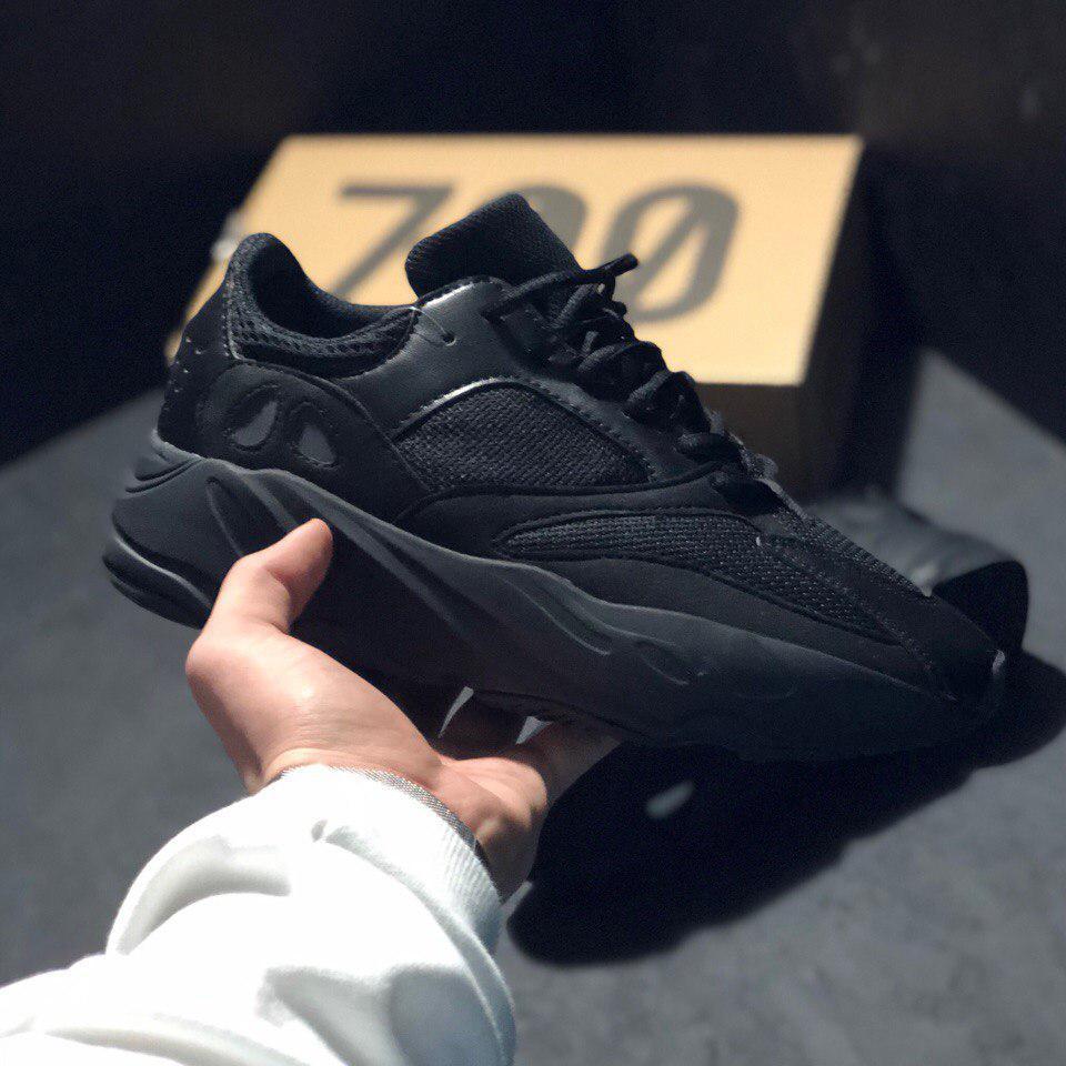 pretty nice ccfaf 07431 Кроссовки Adidas YEEZY BOOST 700 Wave Runner Black (Реплика ААА+)