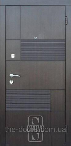 Дверь входная Статус металлическая модель Х216