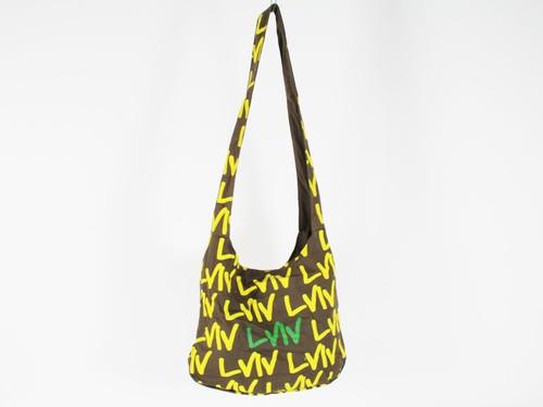 Сумка торба Сити Lviv цвет зеленый хаки
