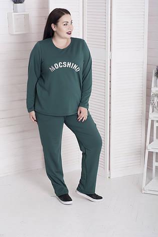 565f665f60e51 Спортивный костюм для полных женщин Фристайл зеленый: 1 050 грн ...