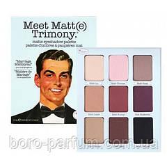 Палетка теней для век The Balm Meet Matt(e) Trimony