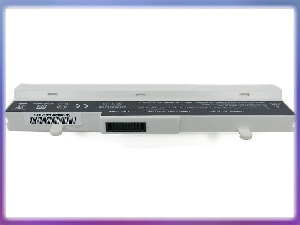 Аккумулятор ASUS AL32-1005 Eee PC 1001P 10.8V 4400mAh 6Cell White 2