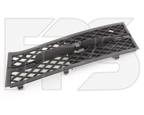 Решетка в бампере BMW 5 F10 (10-13) левая, черная без накладки (FPS) 51117200699