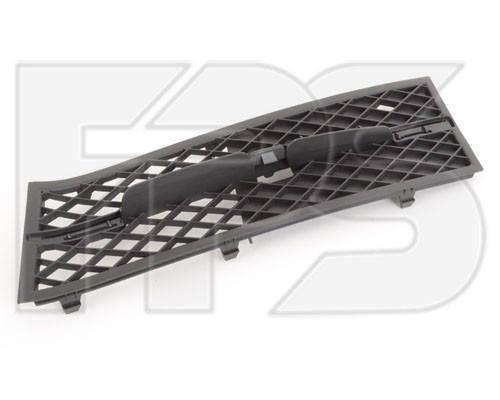 Решетка в бампере BMW 5 F10 (10-13) левая, черная без накладки (FPS) 51117200699, фото 2